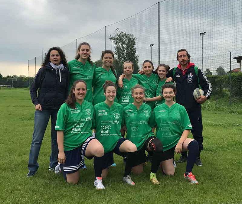 Le ragazze del rugby seconde ad Asti